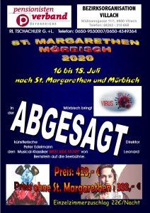 Kulturfahrt  BO Villach 20202020